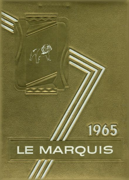 1965 Lafayette High School Yearbook Cover