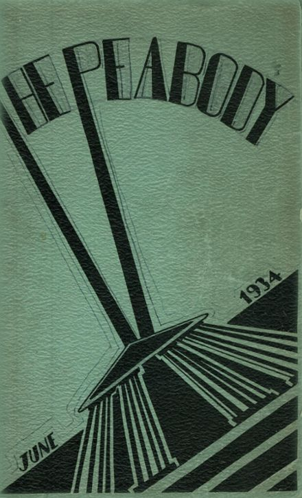 1934 Peabody High School Yearbook Cover