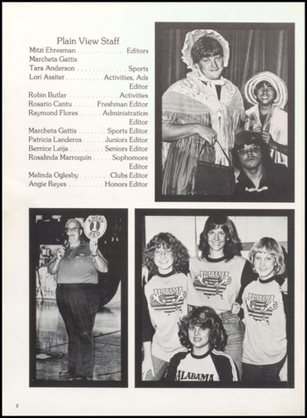 1983 Plainview High School Yearbook Page 6