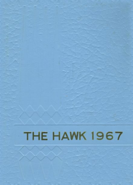 1967 Lynnville-Sully High School Yearbook Cover