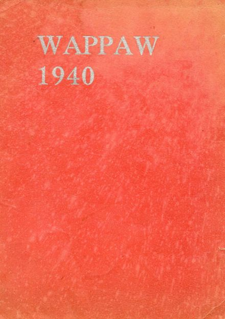 1940 Paw Paw High School Yearbook Cover