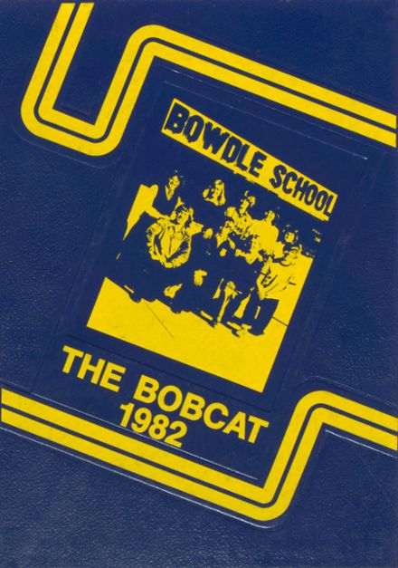 1982 Bowdle High School Yearbook Cover