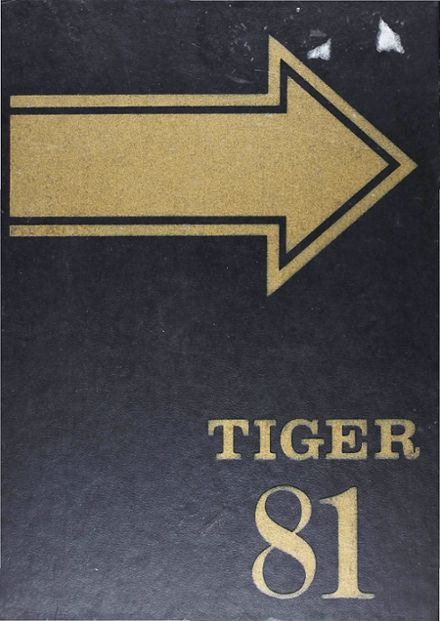 1981 Murray High School Yearbook Cover