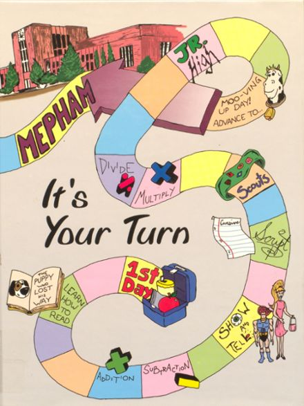 1999 Mepham High School Yearbook Cover