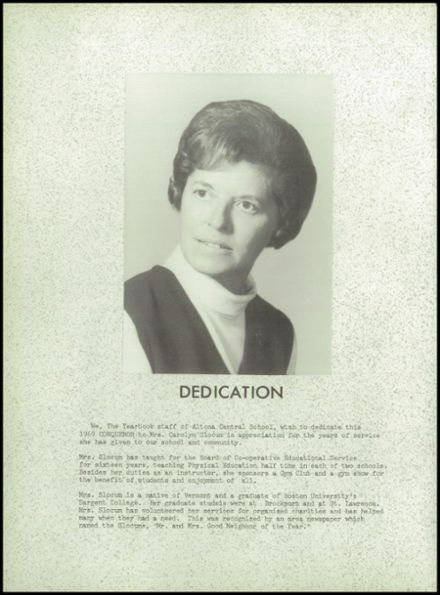 1969 Altona Central High School Yearbook Page 6