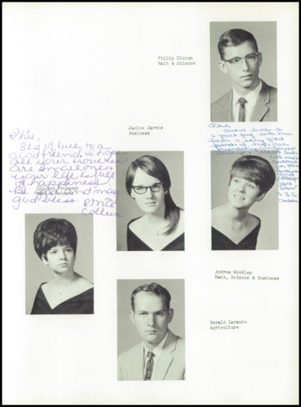 1969 Altona Central High School Yearbook Page 9