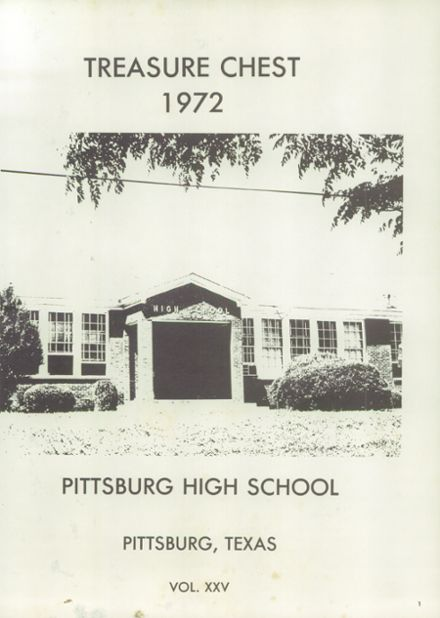 1972 Pittsburg High School Yearbook Page 5