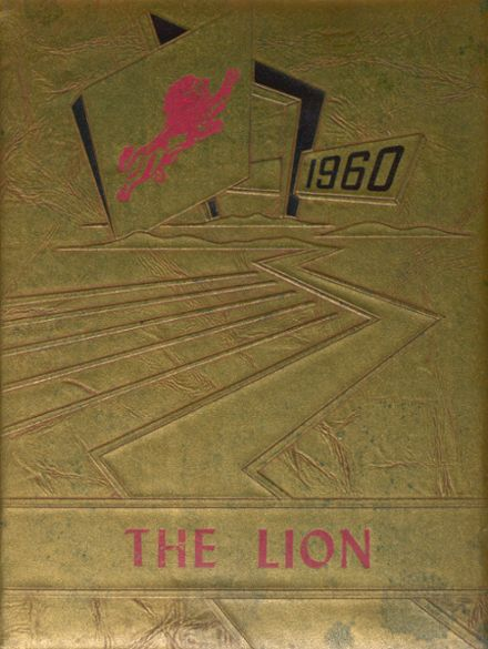 1960 Yates High School Yearbook Cover