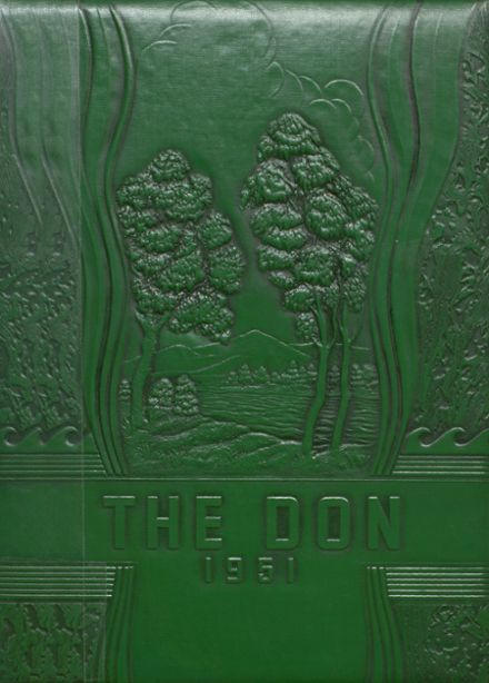 1951 Doniphan High School Yearbook Cover