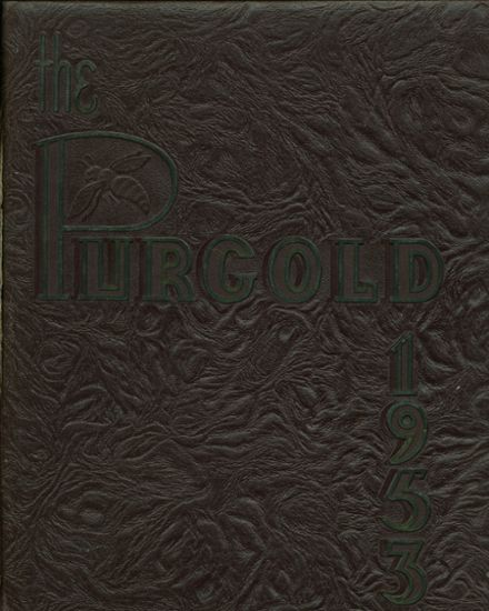 1953 North Kansas City High School Yearbook Cover