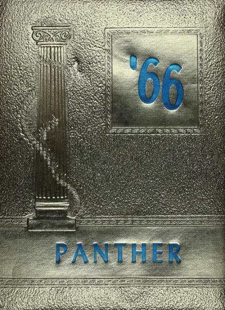 1966 Oswego High School Yearbook Cover
