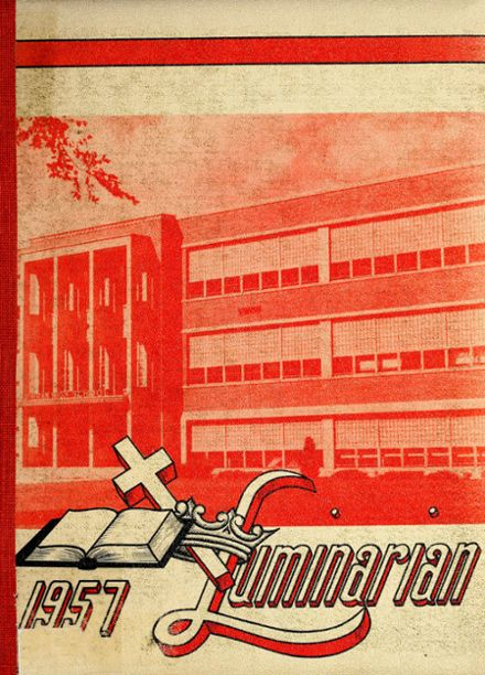 1957 Concordia Lutheran High School Yearbook Cover