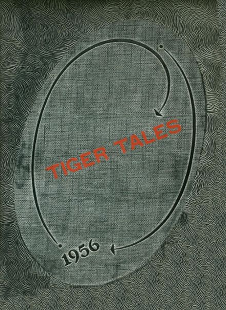 1956 Coweta High School Yearbook Cover