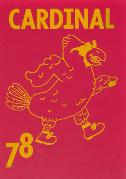1978 Wolsey High School Yearbook Cover