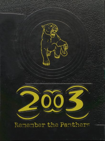 2003 Knoxville High School Yearbook Cover