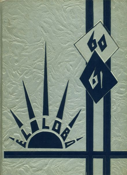 1961 Basic High School Yearbook Cover