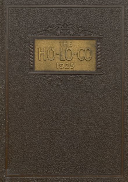 1925 Estherville High School Yearbook Cover