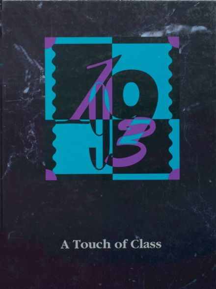 1993 Incline High School Yearbook Cover