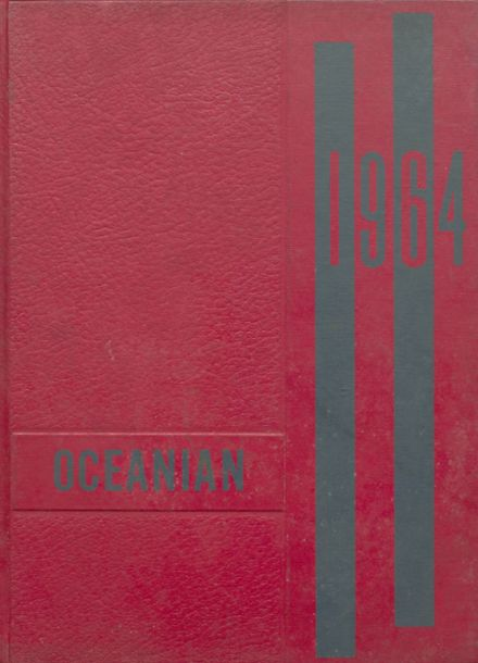 1964 Oceana High School Yearbook Cover