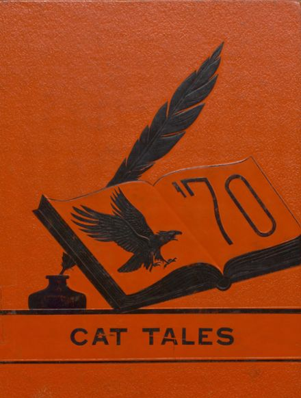 1970 North Union High School Yearbook Cover