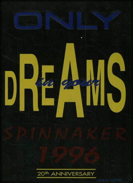 1996 Laney High School Yearbook Cover