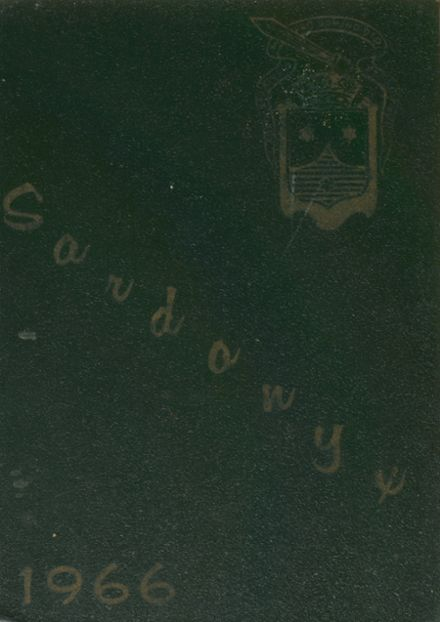 1966 Mt. Carmel Academy Yearbook Cover