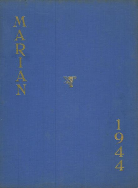 1944 Holy Name of Mary High School Yearbook Cover