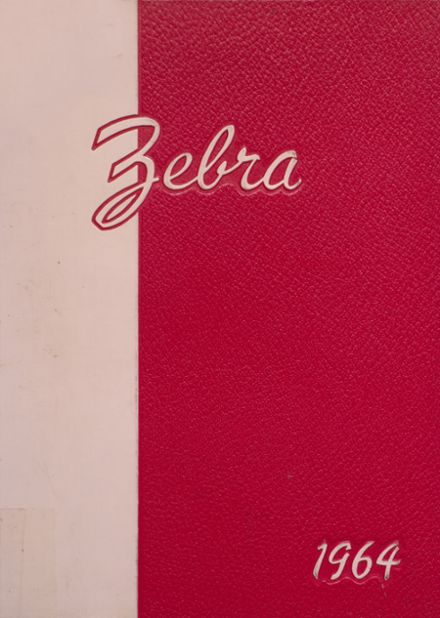 1964 Pine Bluff High School Yearbook Cover