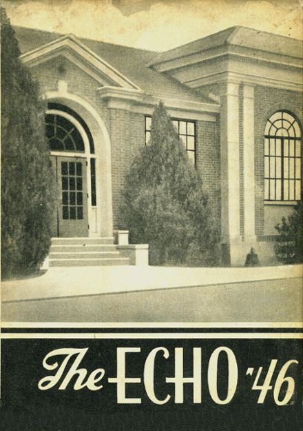 1946 Fayette County High School Yearbook Cover