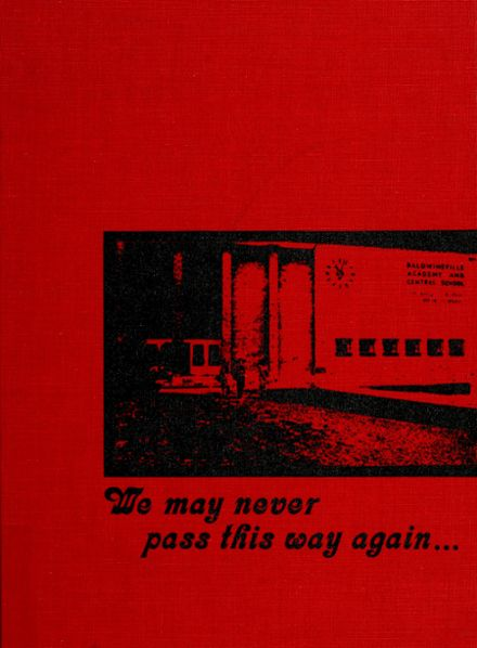 1975 Charles W. Baker High School Yearbook Cover