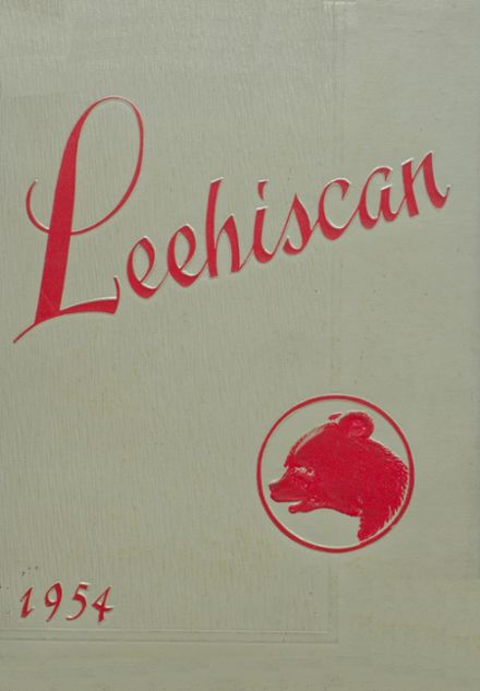 1954 Leetonia High School Yearbook Cover
