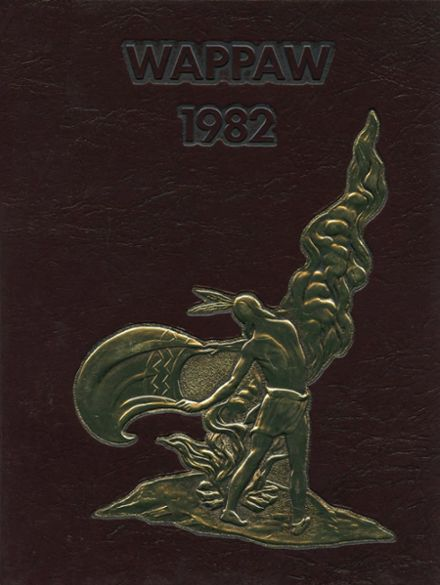 1982 Paw Paw High School Yearbook Cover