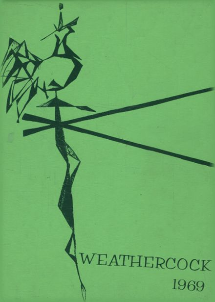 1969 Barstow High School Yearbook Cover