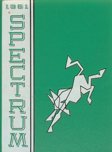 1961 Jefferson High School Yearbook Cover