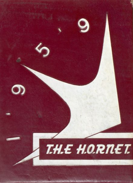 1959 Flour Bluff High School Yearbook Cover