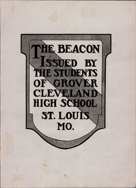 Explore 1947 Cleveland High School Yearbook St Louis Mo
