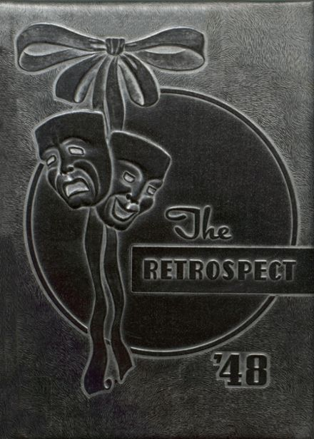 1948 Blume High School Yearbook Cover