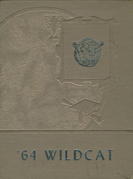 1964 Center High School Yearbook Cover