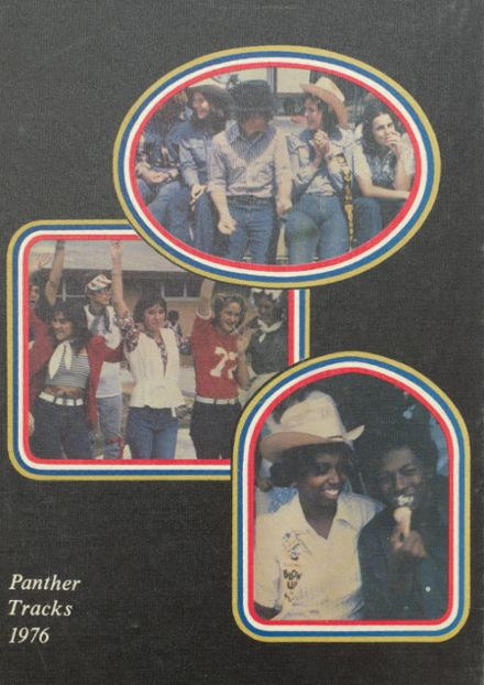1976 Anahuac High School Yearbook Cover