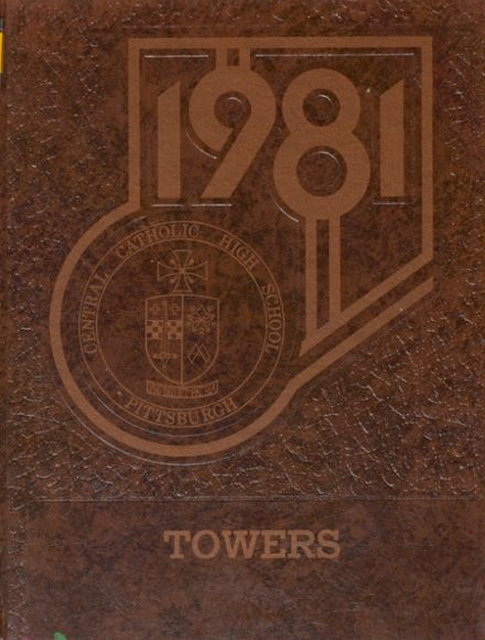 1981 Central Catholic High School Yearbook Cover