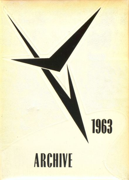 1963 Lake Township High School Yearbook Cover