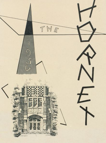 1956 Eureka High School Yearbook Cover
