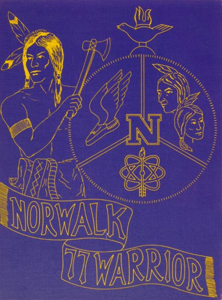 1977 Norwalk High School Yearbook Cover