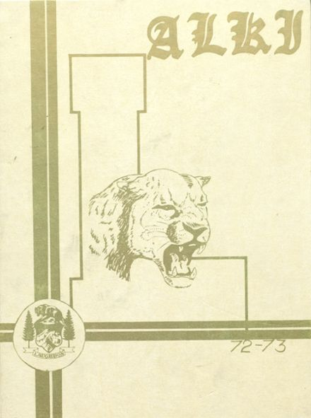 1973 Laughbon High School Yearbook Cover