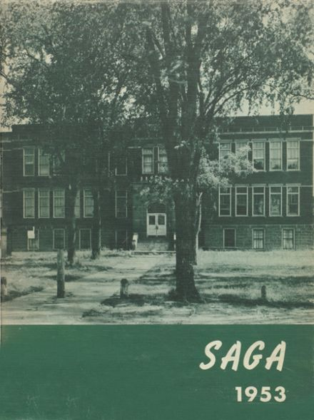 1953 Cadott High School Yearbook Cover