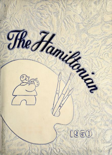 1950 Hamilton Township High School Yearbook Cover
