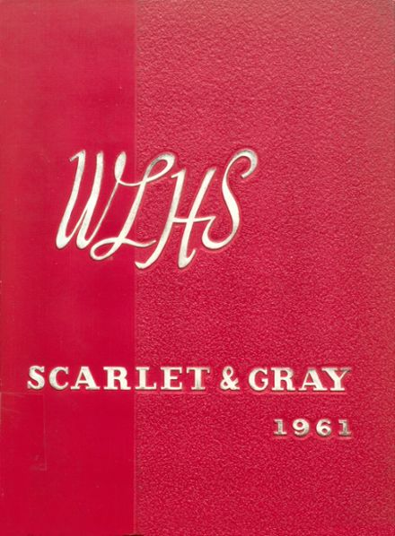 1961 West Lafayette High School Yearbook Cover