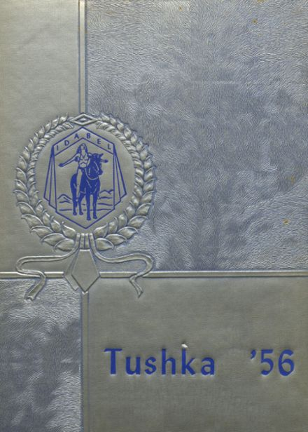 1956 Idabel High School Yearbook Cover