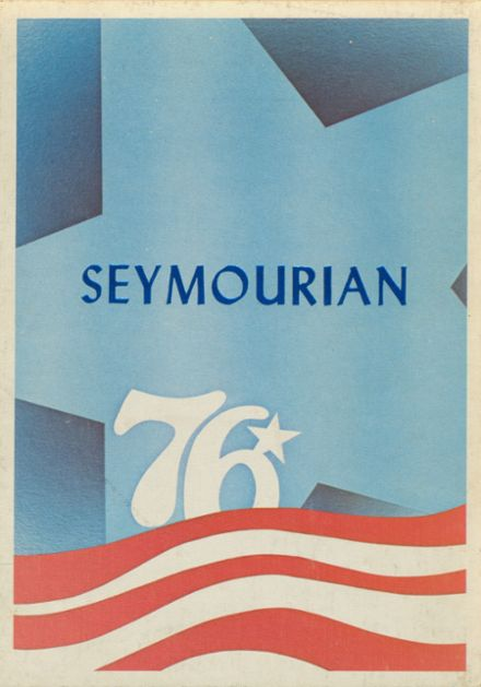 1976 Seymour High School Yearbook Cover