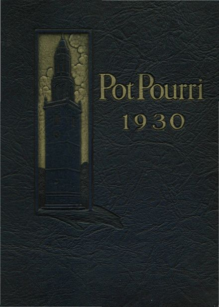 1930 Andover High School Yearbook Cover